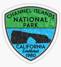 CHANNEL ISLANDS NATIONAL PARK CALIFORNIA BOATING SCUBA DIVING KAYAKING 2 Sticker