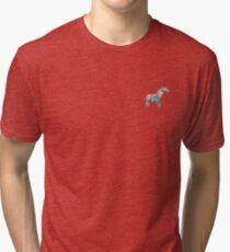 Isometric Zebra Tri-blend T-Shirt