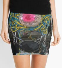Bubble Gum Candy - Abstract Form & Photo by REKHA Mini Skirt