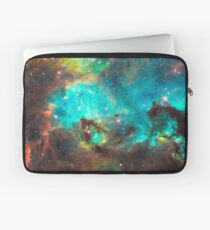 Green Galaxy Laptop Sleeve
