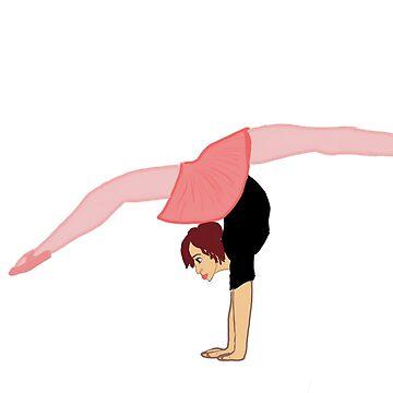Dancer backwards walkover  by cduby