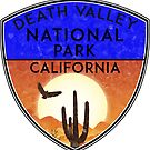 DEATH VALLEY NATIONAL PARK CALIFORNIA VINTAGE HIKE HIKING CAMP CAMPING 2 by MyHandmadeSigns