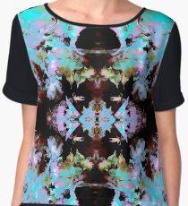 Floral Geo Pattern (Kaleidoscope Dreams) Chiffon Top