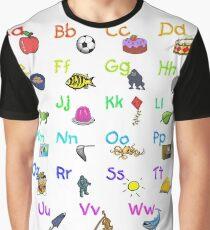 Alphabet Phonics Graphic T-Shirt