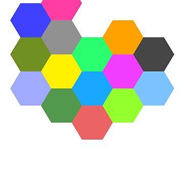 Mondrian - The Honeycomb by lantanagames