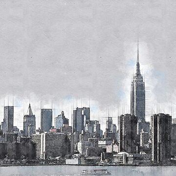 NYC Skyline II by mrthink