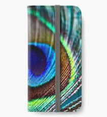 Peacock Feather iPhone Wallet/Case/Skin