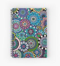 Many Mandalas Spiral Notebook