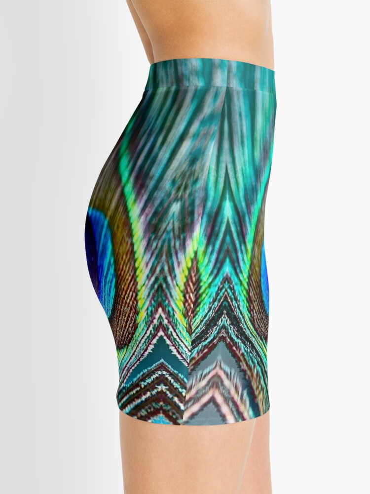 Alternate view of Peacock Feather Mini Skirt