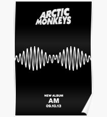 Arctic Monkeys - Am Poster