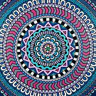 Purple Mandala by Beth Ann  Scott