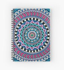 Purple Mandala Spiral Notebook