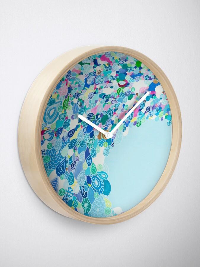 Alternate view of Blue Sea Clock