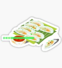 Asian Food Sticker