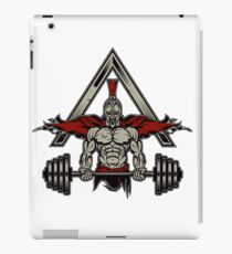 Spartan Bodybuilding Weight Lifter iPad Case/Skin