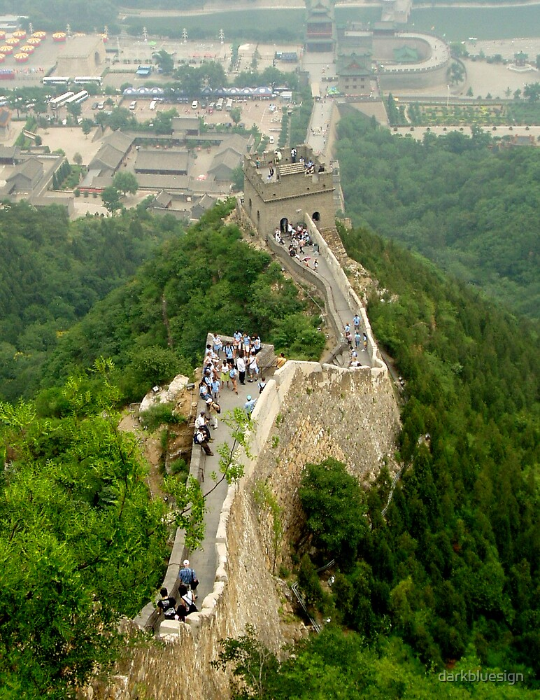 Great Wall by darkbluesign