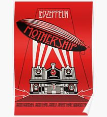 Led Zeppelin - Mostership Poster