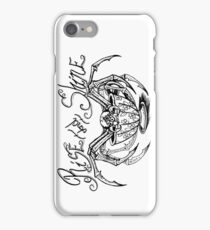 Rise and Shine Spider iPhone Case/Skin