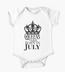 QUEENS ARE BORN IN JULY Kids Clothes
