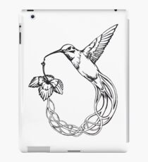 Kolibri Flower iPad Case/Skin