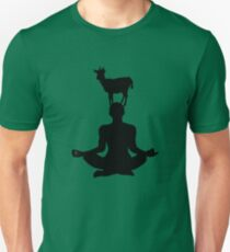 Cute Goat Doing Yoga T-Shirt