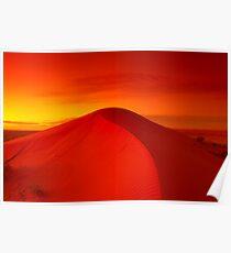 Dawn on Big Red - Simpson Desert Poster