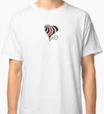 Elliott Smith Figure 8 XO Heart Classic T-Shirt
