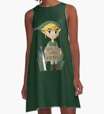 Looking For Work - Legend of Zelda A-Line Dress