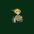 Looking For Work - Legend of Zelda by Rhonda Blais