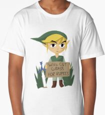 Looking For Work - Legend of Zelda Long T-Shirt