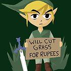 Looking For Work - Legend of Zelda by Rhonda Blais