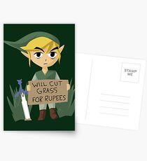 Postales Buscando trabajo - Legend of Zelda