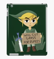 Looking For Work - Legend of Zelda iPad Case/Skin