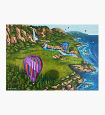 Ocean Balloons Photographic Print