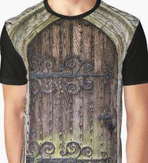 Old Door Graphic T-Shirt