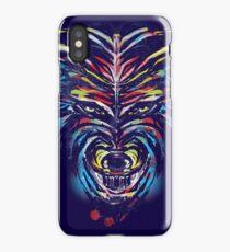 stencil wolf iPhone Case/Skin