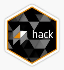 hack hexagonal Sticker