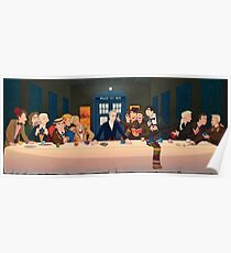 Last Tea & Biscuits - Doctor Who Poster