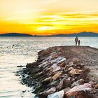 Sunset with dad by Silvia Ganora