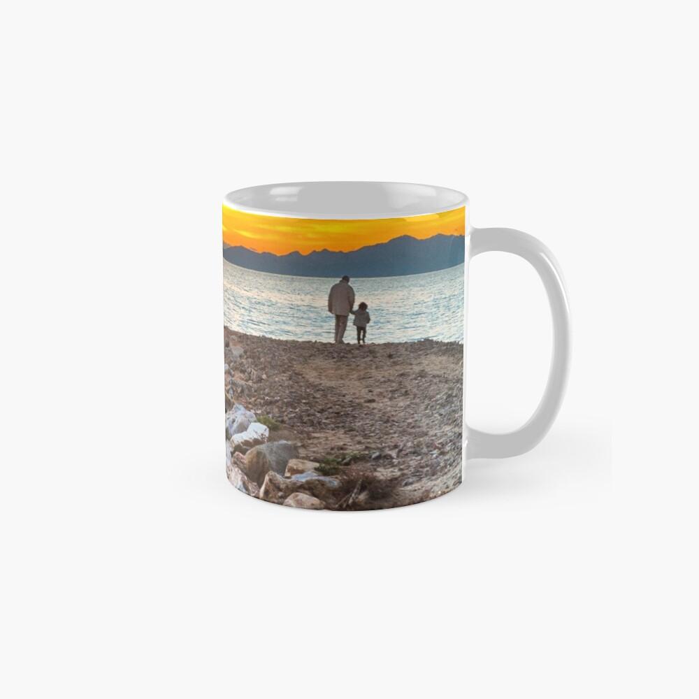 Sunset with dad Mugs