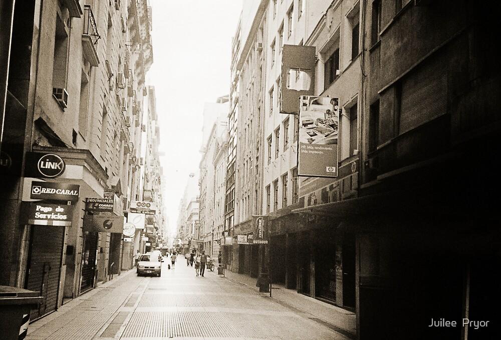 City Street Lomo Argentina by Juilee  Pryor