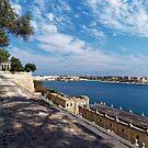 A Fine Day in Valletta by Mark Baldwyn