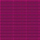 Pink and black diamond pattern  by TeAnne