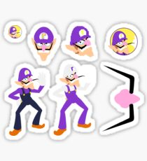 Ultimate Waluigi Pack Sticker