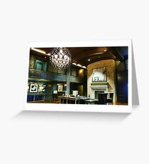 Carriage House Foyer Greeting Card