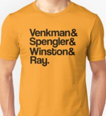 Venkman & Spengler & Winston & Ray T-Shirt