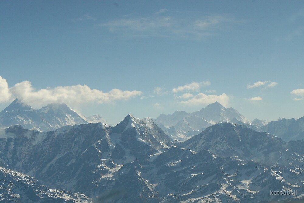 Mount Everest- Nepal by kateabell