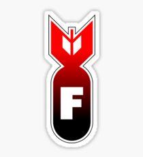 F Bomb Sticker