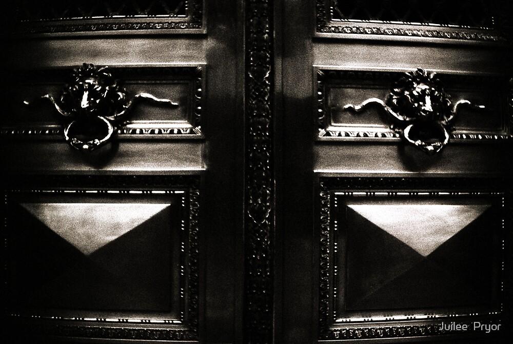 City Door Lomo Argentina by Juilee  Pryor