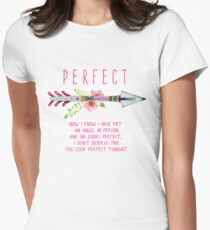 Perfect Women's Fitted T-Shirt